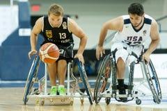 World Wheelchair Basketball Championship Royalty Free Stock Photo
