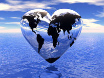 World in which lives love. (see more in my portfolio Royalty Free Stock Photography