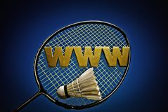World Wide Badminton Royalty Free Stock Photos
