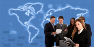 World wide business Stock Photography