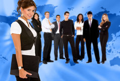 World wide business people Stock Photos