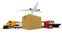 World Wide Cargo Transport Royalty Free Stock Images