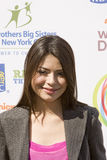 World Wide Day of Play hosted by Miranda Cosgrove. Nickelodeon sponsored the World Wide Day of Play to help fight obesity in children. THis event was held in New Stock Photo