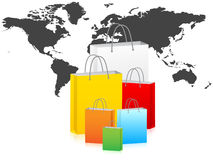World wide delivery Royalty Free Stock Images