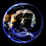 World Wide Email Globe East Royalty Free Stock Photos