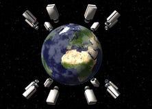 World Wide Surveillance Royalty Free Stock Image