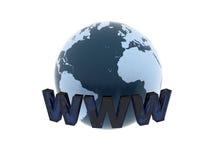 World Wide Web royalty free illustration