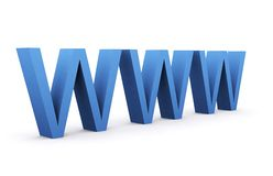 World Wide Web Lizenzfreies Stockbild