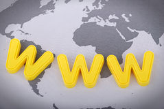 World Wide Web Stock Afbeeldingen