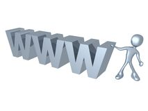 World Wide Web Stock Image