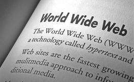 World Wide Web Royalty-vrije Stock Afbeelding