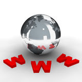 World wide web 3 Royalty Free Stock Photography