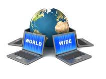 World Wide Web Fotografie Stock
