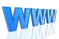 World Wide Web 3d Fotos de archivo