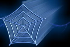 World Wide Web - 3D Illustration. World Wide Web - 3D Zooming Cobweb Illustration Royalty Free Stock Photo
