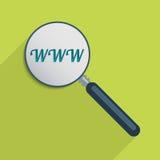 World Wide Web ilustração do vetor