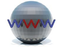 World Wide Web Photo stock