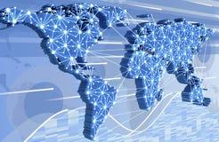 World Wide Web vector illustratie