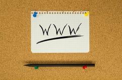 World Wide Web fotografía de archivo libre de regalías