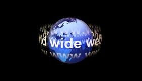 World Wide Web alrededor de la tierra
