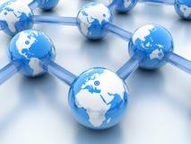 World Wide Web astratto Fotografia Stock
