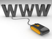 World wide web concept Stock Photos