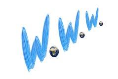 World Wide Web Stock Photo