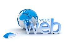 World Wide Web - concept illustration Stock Images