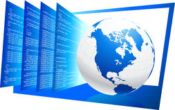 World wide web HTML code background Royalty Free Stock Photo