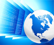 World wide web Internet background Stock Photography