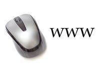 World Wide Web-Muis Royalty-vrije Stock Afbeeldingen