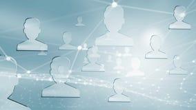 World Wide Web op blauwe achtergrond Gemengde media Royalty-vrije Stock Afbeeldingen