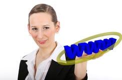 World Wide Web Presentation Royalty Free Stock Photos