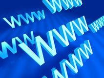 World Wide Web Symbol Stock Photos