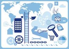 World wide web symbols Stock Photo
