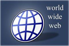 World Wide Web WWW illustration stock