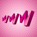 World wide web www icon Royalty Free Stock Images