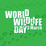 World wildlife day. Stock Photos