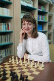 World Women's Chess Champion Elisabeth Paehtz Stock Image