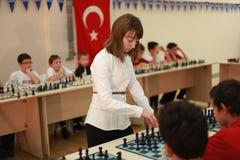 World Women's Chess Champion Elisabeth Paehtz Royalty Free Stock Image