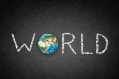 World word Royalty Free Stock Image