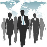 World work force business people human resources stock illustration