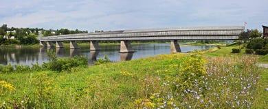 World& x27; längste überdachte Brücke s Lizenzfreie Stockbilder