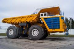 World' o caminhão enorme o maior BelAZ de s Fotos de Stock