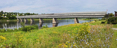 World& x27 ; pont le plus longtemps de couvert de s Images libres de droits