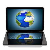 The world on your computer Royalty Free Stock Photography