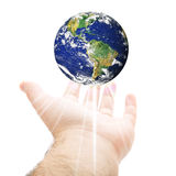World In Your Hand Stock Photos