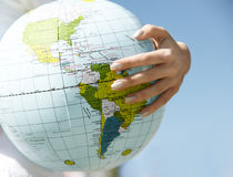 World in your hand Royalty Free Stock Photo