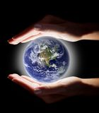 The world in your hands Stock Images