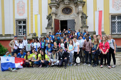 World Youth Day 2016 in Trzebnica Royalty Free Stock Photos